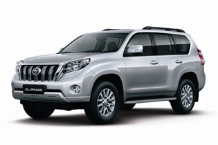 Toyota LandCruiser 150 4x4 or similar